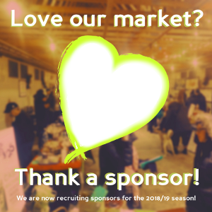 Memorial Centre Farmers Market Become a Sponsor